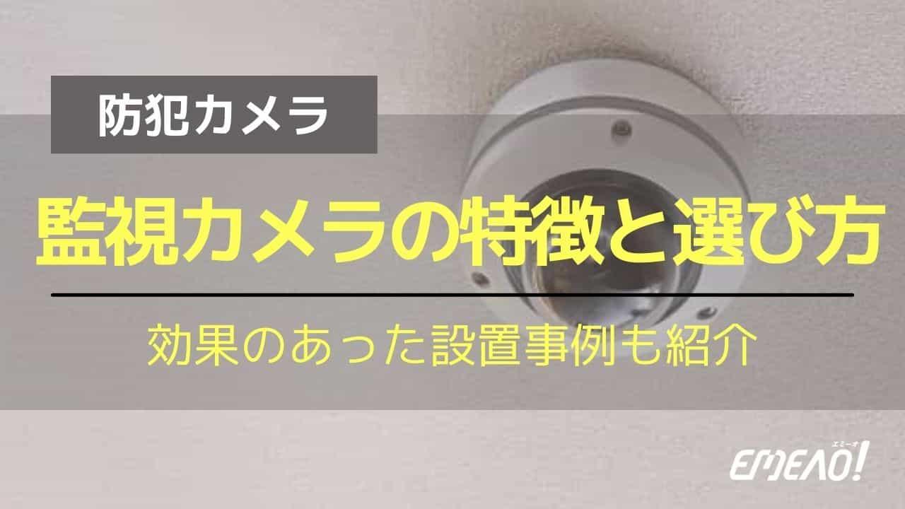 5a39c7cc8469ffd00369923be9355767 - 監視カメラの特徴と設置事例・選ぶ際に確認したい2つのポイント
