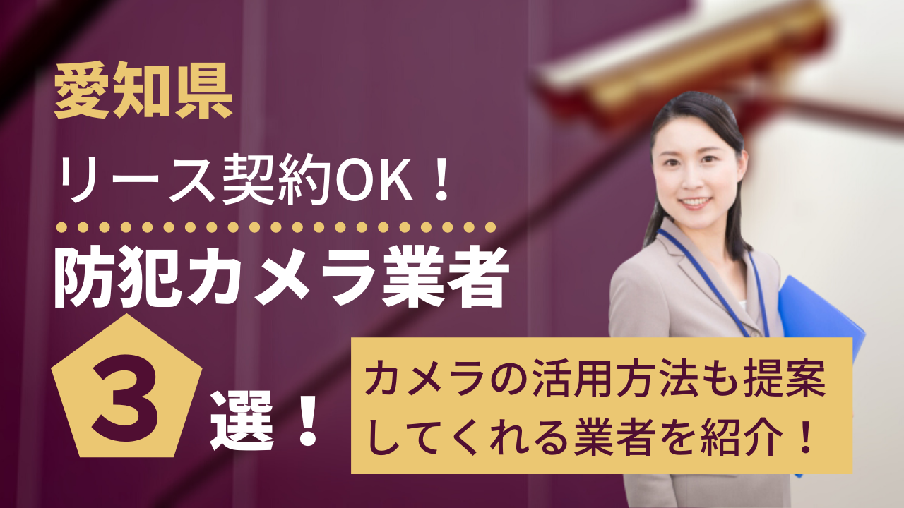 c1d22a65bfd44e7eda12fc3bf6a2cde6 - 愛知県で防犯カメラの活用法も提案できるリース対応可能業者3選!