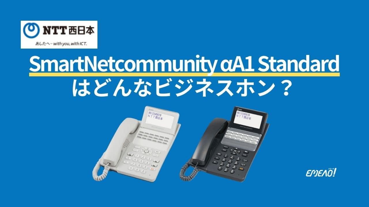 99abbb6f15509e79eedd7d388cf99333 - NTTのSmartNetcommunity αA1 Standardはどんなビジネスホン?