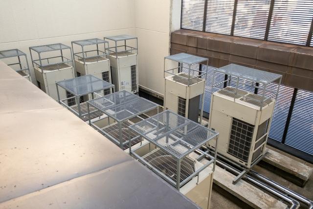 業務用エアコン設置時の標準工事の具体的な工事内容